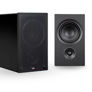 Alpha AM5 - Black - 3-4 Left with Right Front - With Grill on Left-a78b9530