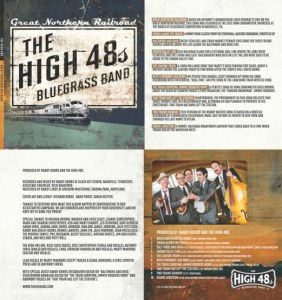 The High 48s Great Northern Railroad Liner Notes