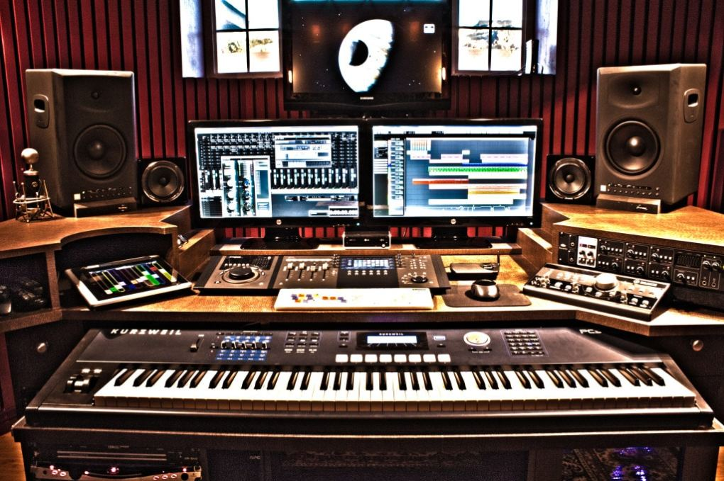 How set up a home studio what gears do you need