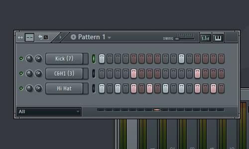 Simple Hip-Hop Beat Variation 2