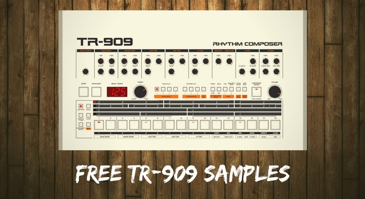 909 free samples download roland tr 909 wav drumkit thp