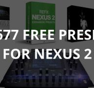 Refx Nexus 2 – Ultimate List Of free Expansion Packs (1677 presets)