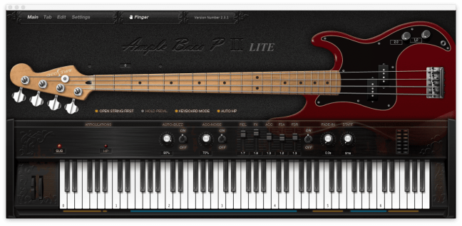 Ample Bass VST for Mac and Windows