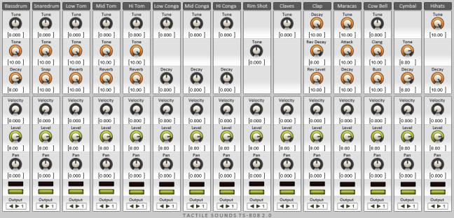 TS 808 awesome 808 emulation plugin