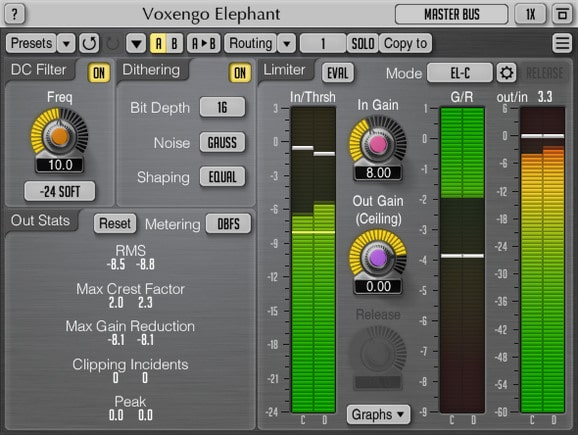 Download Voxengo Elephant Limiter for Free