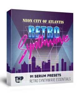 93 Serum Presets synthwave genre