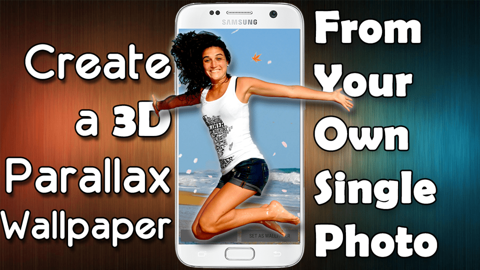 How to Make a 3D Parallax Wallpaper for Your Smartphone from Your Own Single Photo