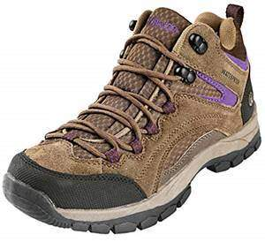Northside Womens Pioneer Mid Rise Leather Hiking Boot