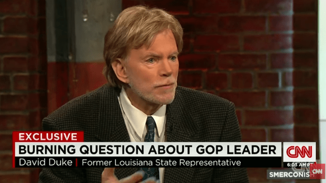 David Duke: Charlottesville protests about 'fulfilling promises of Donald Trump'
