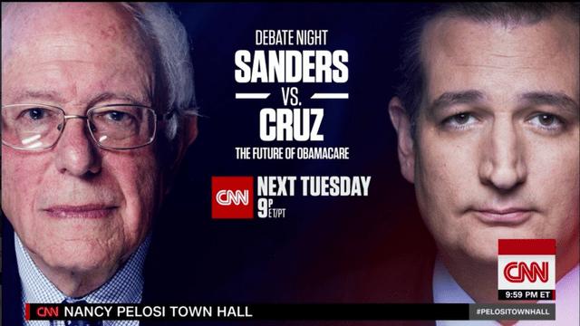 Sanders, Cruz to face off in debate over future of ObamaCare