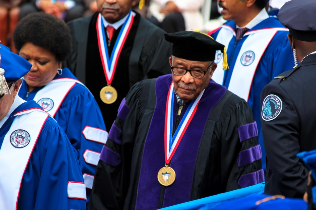 Ambassador, Army Veteran, Alpha Man, Scholar: Dawson Receives Doctor of Laws Honorary Degree