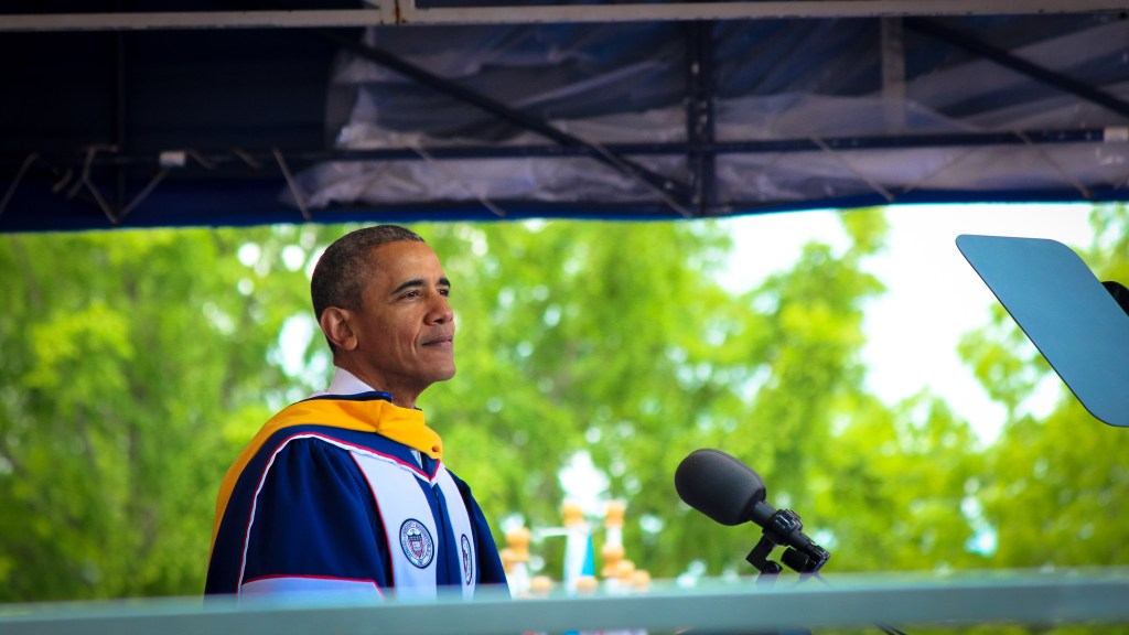 Obama Embodies Blackness, Confidence, Hope at Howard University's 148th Commencement