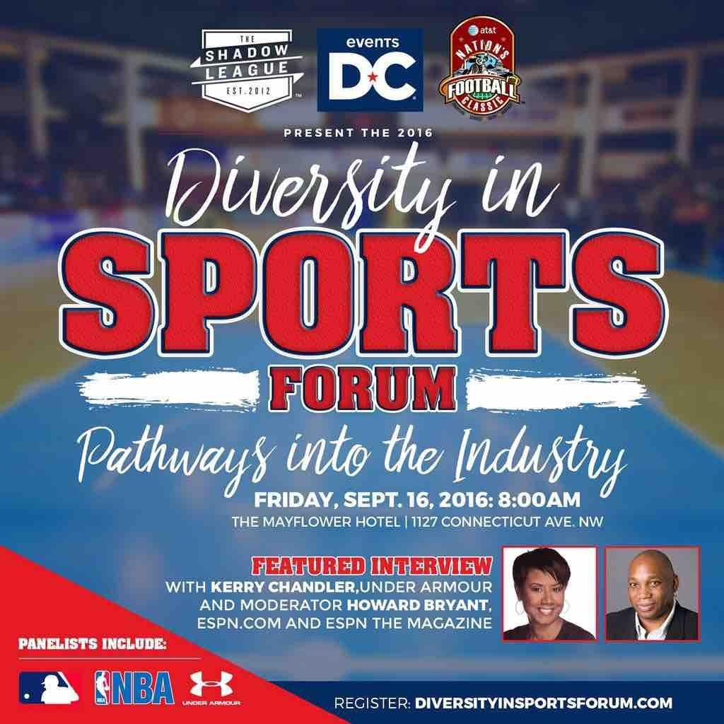 Nation's Classic to Highlight Diversity In Sports Forum
