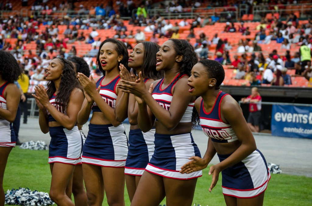 Howard Cheerleaders Protest National Anthem, Calls For Freedom and Justice for All