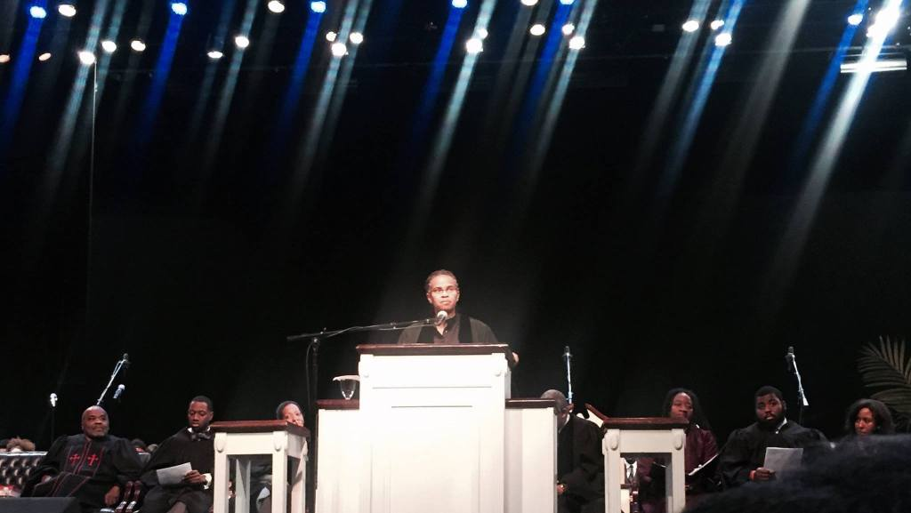 OVERVIEW — Reverend Callahan Gets Political in the Pulpit at Rankin Chapel