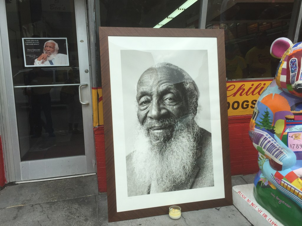 """Dick Gregory's life honored with tribute parade and """"Celebration of Life"""" service"""