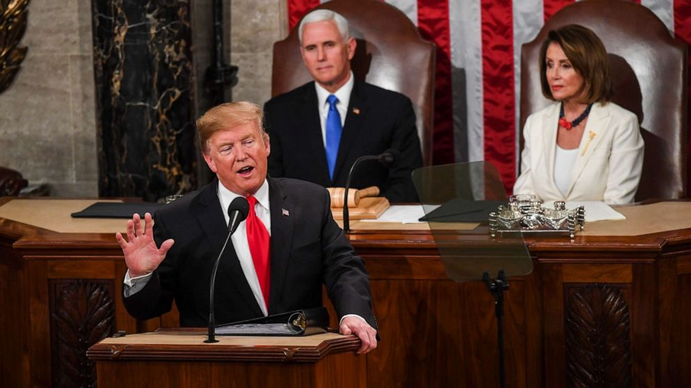 Trump Boasts Economic Achievement, Pleads Case to Black Voters During State of the Union