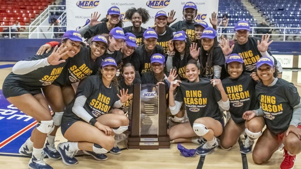 Howard Volleyball Striving for MEAC Top 25