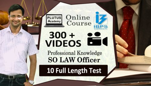 IBPS SO LAW Professional Knowledge