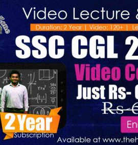 Video Course SSC CGL 2020 2 Year Subscription