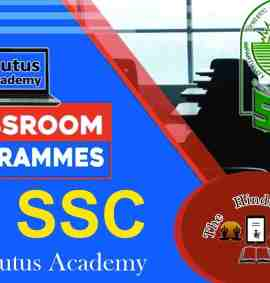Plutus Academy Classroom Program For SSC Exam