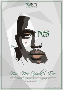 Nas New Years Eve contest Winner's Invite