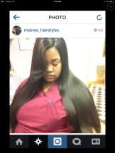 The Stylist sbree_hairstyles Instagram Post Photo: Instagram