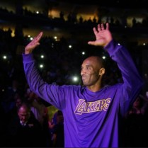 Kobe Bryant On Farewell Tour At Wells Fargo Center December 1, 2015