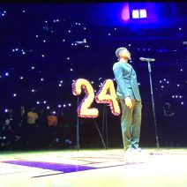 Lakers 1st game played after the death of Kobe, Gianni Bryant