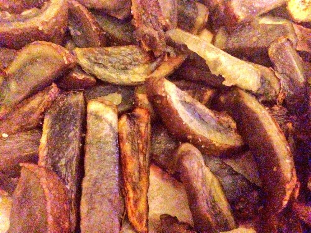 Purple Potato French Fries (1/2)