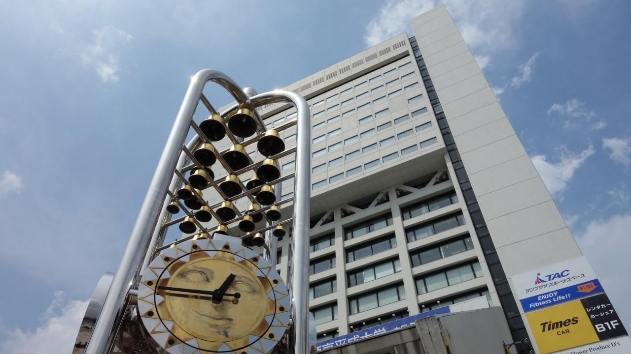 中野サンプラザ建物外観