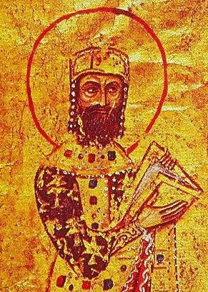 Portrait of the Byzantine Emperor Alexios I Komnenos (r. 1081-1118), [Public Domain] via Creative Commons.jpg
