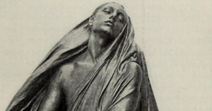 "Social media crop of ""Thanatos"", sculpted by Karl Bitter, c. early 20th century, [Public Domain] via Creative Commons.jpg"