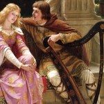 social media crop Tristan and Isolde painted by Edmund Leighton (1852–1922), [Public Domain] via Creative Commons