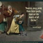 Dante on avarice envy pride quotepic