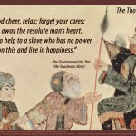 The Thousand an One Nights on being of good cheer quotepic