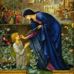 The Prioress Tale, painted by Edward Burne-Jones (1833–1898), [Public Domain] via Creative Commons