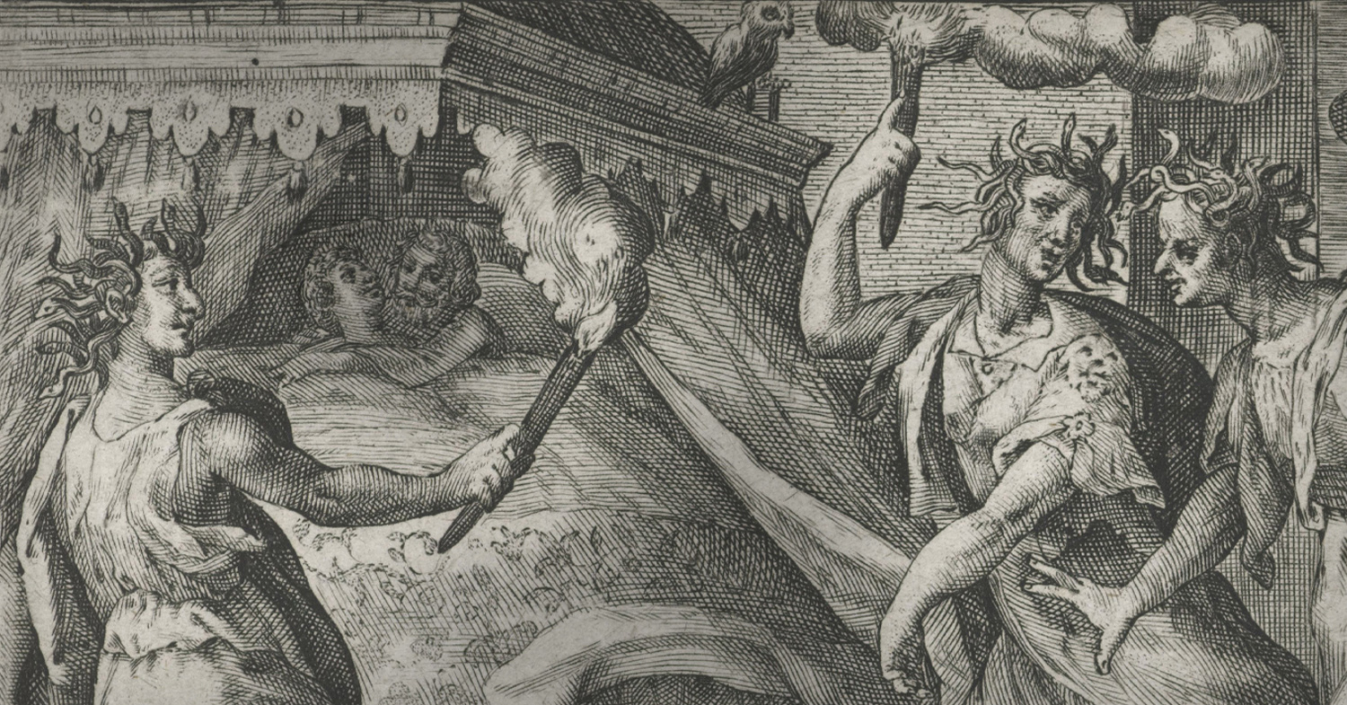 The Furies, Or Erinyes, Of Greek And Roman Mythology | The Historian's Hut