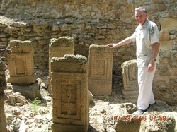 The Author At The Tophet During His 2006 Visit