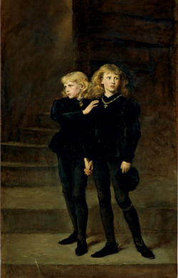 Princes in tower