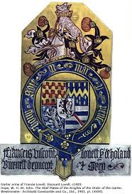 garter arms lord lovell.jpg