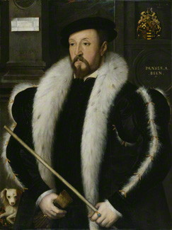 NPG 1851; Thomas Wentworth, 1st Baron Wentworth by Unknown Anglo-Netherlandish artist