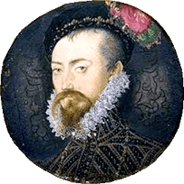 robert dudley minature