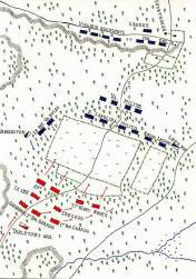 Battle of Guilford Courthouse Map