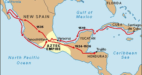 Exploration of North America