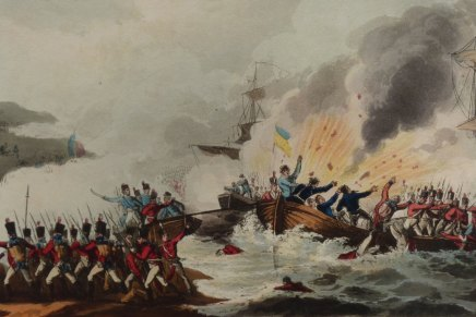 2705 – The British campaign in Egypt, 1801. part 2