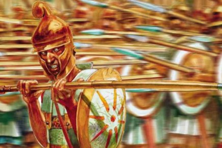 2708 The Macedonian Phalangite vs Persian Warrior