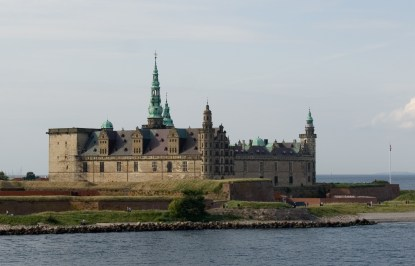Kronborg Castle - built on top of Krogen (: The Hook) originally constructed by Eric of Pomerania