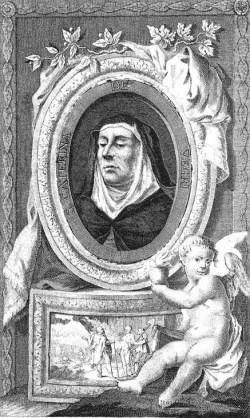 sveta Katarina de Vigri - devica in redovnica