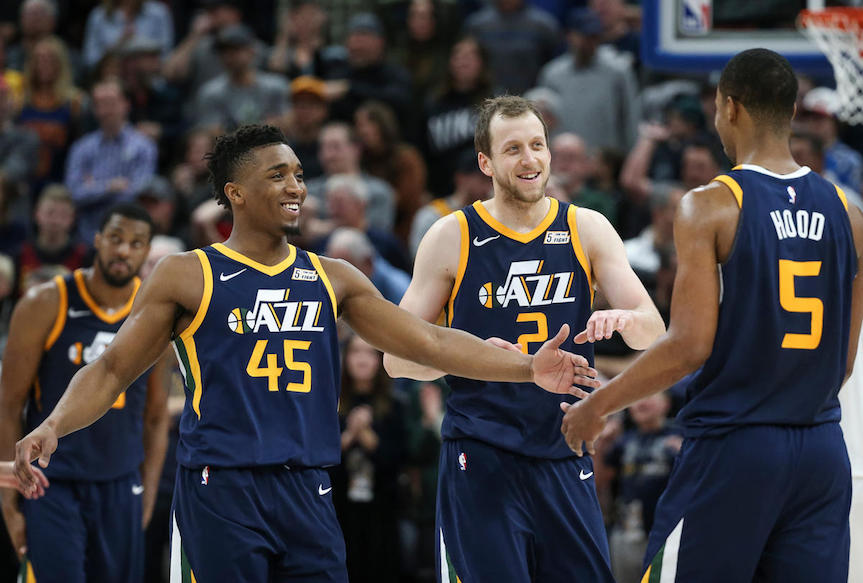 Jazz on Fire but Division Race is still difficult